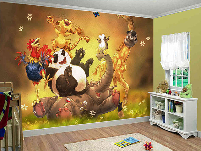 Children room wallpaper 05